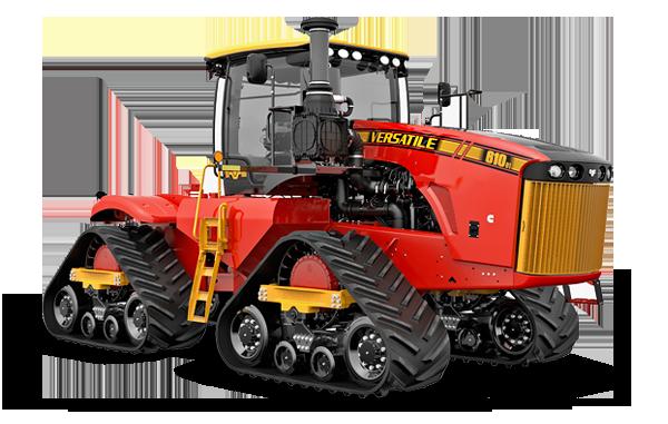 Versatile Deltatrack Tractors